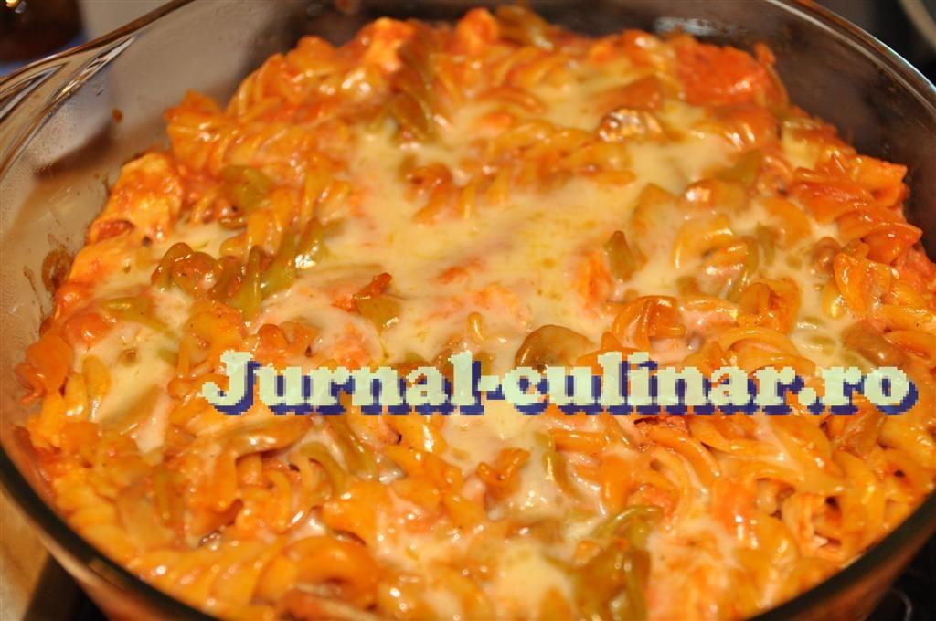 Paste cu ciuperci la cuptor
