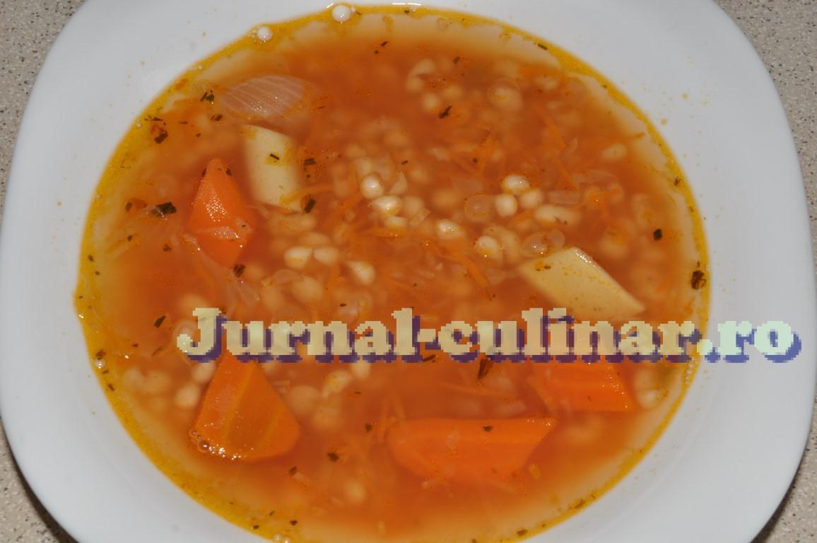 Supa de fasole cu tarhon
