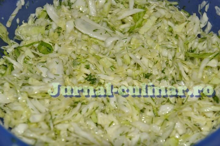 Salata de varza proaspata cu marar