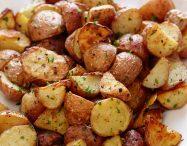 cartofi la cuptor noi cu branza usturoi rozmarin bacon carne